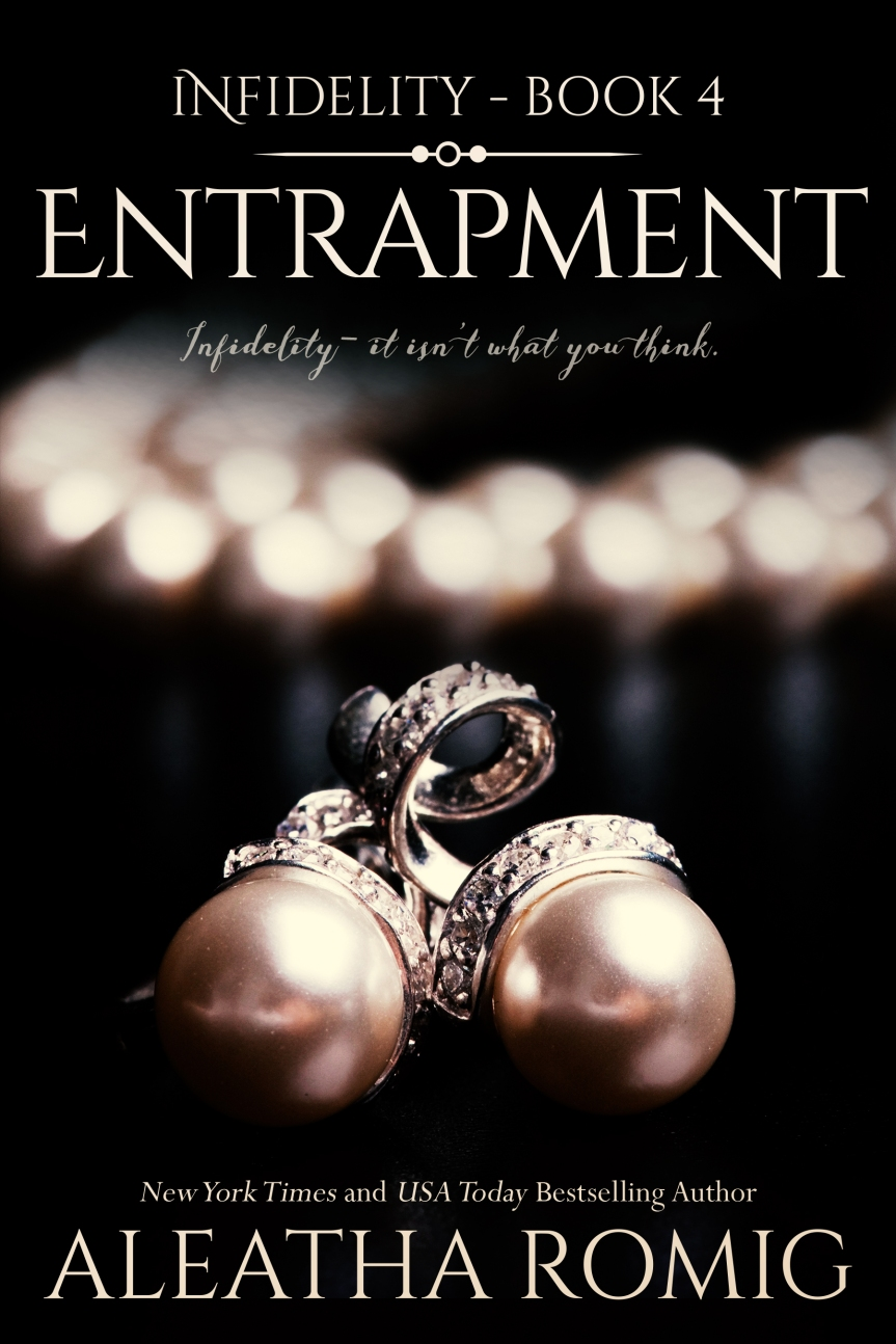 COVER REVEAL: Entrapment by Aleatha Romig