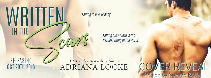Cover Reveal: Written In The Scars by AdriannaLocke
